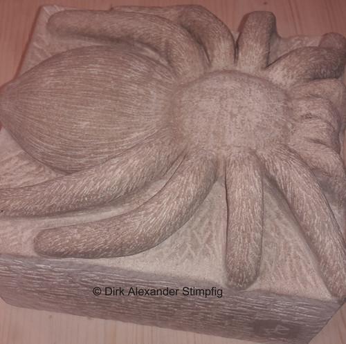 Spinne aus Mainsandstein
