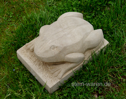 Frosch aus Stein